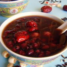 黑糯米红豆粥