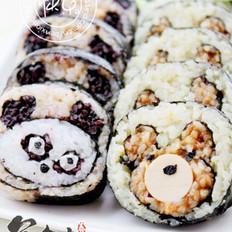 熊猫寿司的做法