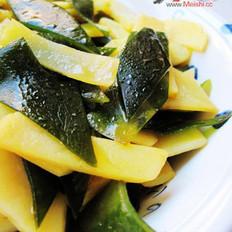 土豆烧海带片的做法