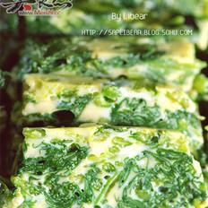 蘸水菠菜的做法