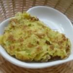 笋瓜鸡蛋饼