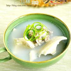 榴莲壳排骨汤