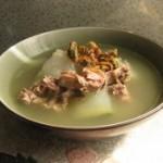 冬瓜淡菜烧鸭汤