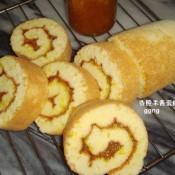 香橙果酱蛋糕卷的做法