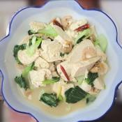 青菜烧豆腐