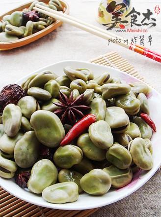 五香水煮蚕豆的做法
