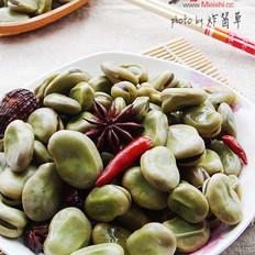 五香水煮蚕豆