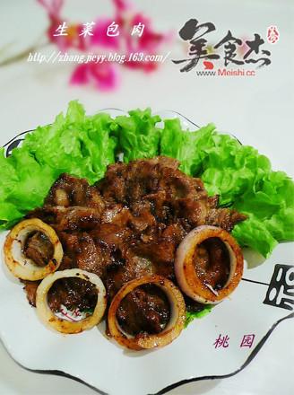 """包肉 - 生菜; 简单美味的""""烧烤""""-----《生菜包肉》"""
