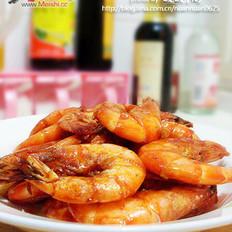 业余版油焖大虾的做法