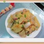 土豆炒洋葱