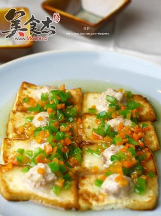 黄金酿豆腐的做法