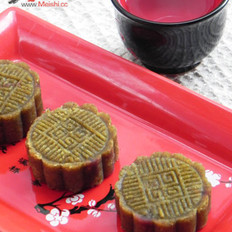 豆沙绿豆糕的做法