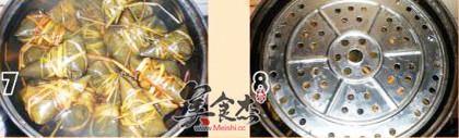 蜜枣豆沙粽子