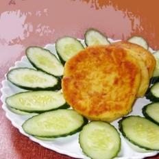 日式煎海苔土豆饼