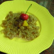 煎粽子饼的做法