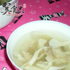 瘦肉平菇鲜汤的做法