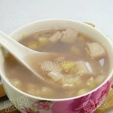 菱角莲藕粥