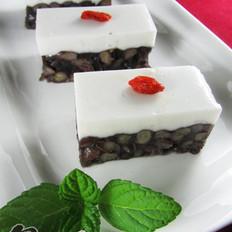 椰汁红豆糕的做法