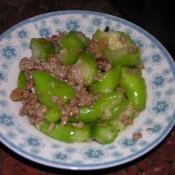 冬菜炒丝瓜
