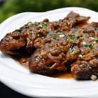 黄豆酱炆酥鲫鱼