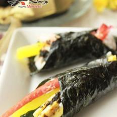 海苔酱油煮手卷寿司