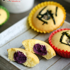 紫薯夹心小蛋糕