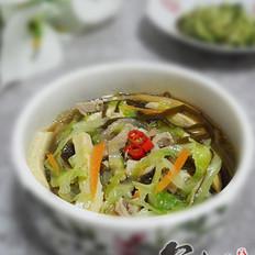 肉丝什锦卤汤