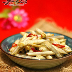 泡椒辣炒藕带的做法