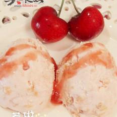 樱桃冰淇淋的做法