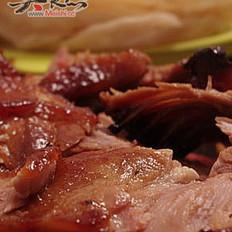 桂花香烤鸭的做法