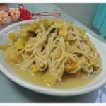 咸菜金针菇