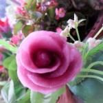 紫薯玫瑰花小馒头的做法