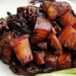 鹿茸菇红烧肉