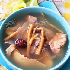 鲍螺片清补凉煲瘦肉的做法