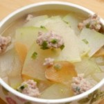菜脯冬瓜肉丸汤的做法
