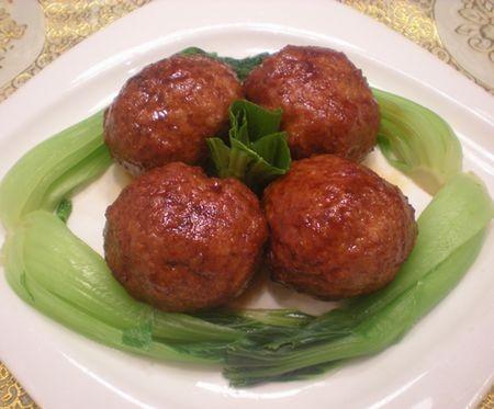 【鲁菜】四喜丸子的做法_家常【鲁菜】四喜丸子的做法