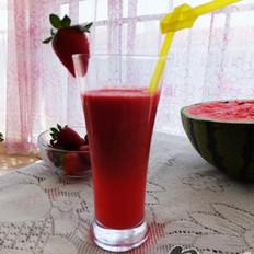 西瓜美容汁的做法