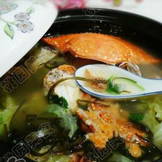 一品螃蟹汤的做法