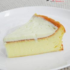 纽约芝士蛋糕配酸奶油的做法
