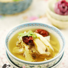 当归红枣猪肚汤的做法