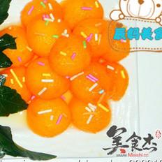 橙汁瓜球 的做法