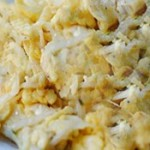 小银鱼炒鸡蛋的做法