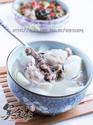 山药兔肉汤的做法