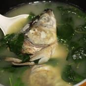 鱼头枸杞叶汤
