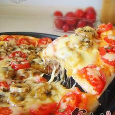 樱桃番茄香蕉披萨