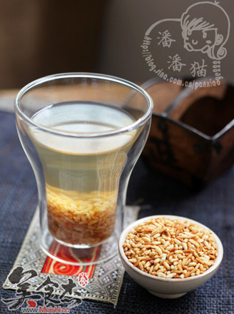 炒米茶的做法