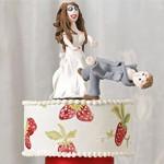 离婚蛋糕让分手充满搞笑