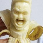 """""""香蕉雕塑""""生动形象"""