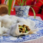 西葫芦木耳海红水饺