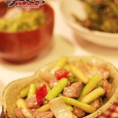 三色鲜蔬牛肉粒的做法
